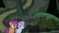 Scootaloo and Sweetie Belle uncertain S5E6