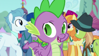 """Spike """"as long as they think it came from Twilight"""" S5E10"""