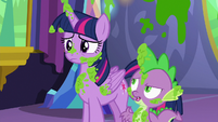 """Spike """"mashed peas were her favorite"""" S7E3"""