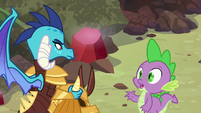 Spike --I could ask you the same thing-- S6E5