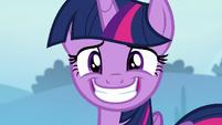 Twilight Sparkle's eye twitching S6E25