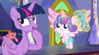 """Twilight Sparkle """"time for a quick game"""" S7E3"""
