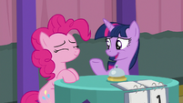 "Twilight Sparkle ""try sitting still"" S9E16"