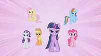 Dramatic reveal that the Mane Six are the Elements of Harmony S1E2
