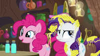 "Pinkie Pie ""I love a good scary story!"" S7E19"
