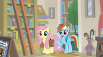 """Rainbow Dash """"A. K. Yearling's true fans"""" S9E21"""