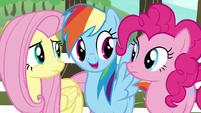 "Rainbow Dash ""all we need is a unicorn"" S6E18"