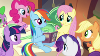 Rainbow and gang in epilogue S4E22
