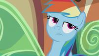 Rainbow rolls her eyes S5E8