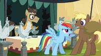 "Rainbow tells Coco Crusoe to ""beat it!"" S4E22"