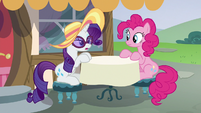 "Rarity ""if everypony could speak in a whisper"" S6E21"