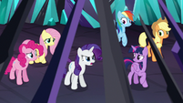 """Rarity """"you leave Ponyville alone!"""" S9E2"""