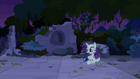Rarity with messed up mane S4E03