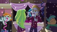 Snips, Snails, and Lemon Zest dancing EG3