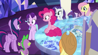 Starlight Glimmer mentions Tempest Shadow S8E1