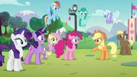 "Applejack ""Just you wait, Pinkie"" S5E24"
