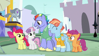 """Bow Hothoof """"now, let's do the pyramid!"""" S7E7"""