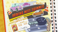 Driving Miss Shimmer title card CYOE5
