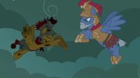 Flash Magnus returns Netitus to Commander Ironhead S7E16