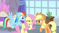 Fluttershy in deep thought MLPS3
