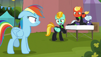 """Lightning Dust """"mad at me?"""" S8E20"""