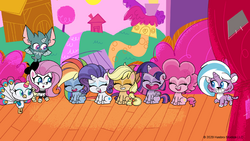 MLP Pony Life Tiny Pop - The Mane Six! Playwright or Wrong.png