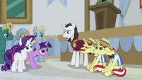 "Neighsay ""the headmare of a school"" S8E16"