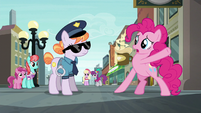 Pinkie Pie --if I can't get that pouch-- S6E3