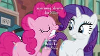 Pinkie Pie emphasizes on the D in --PSSSD-- S6E3