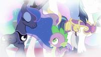 Princess Luna agrees to Spike's proposal S9E4