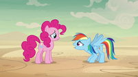 """Rainbow Dash """"but we have to convince her"""" S7E18"""