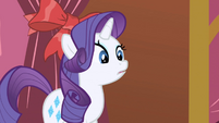 "Rarity ""Out of my hair?"" S1E01"