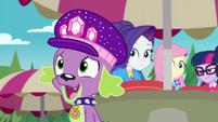 "Spike half-hearted ""happy to help"" CYOE14b"