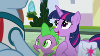 "Twilight ""somepony who used to live here"" S9E5"