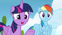 """Twilight Sparkle """"have you noticed anypony"""" S6E24"""