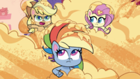 """Applejack """"make a plan to get out of this flan!"""" PLS1E1b"""