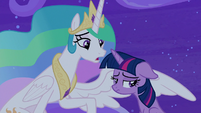 "Celestia ""didn't Applejack remind you?"" S8E7"