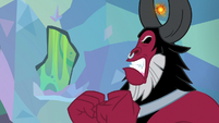 Lord Tirek getting enraged at Discord S9E25