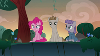 Pinkie Pie can't stand Mudbriar anymore S8E3
