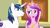 """Princess Cadance """"that took forever to clean up!"""" S7E3"""