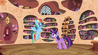 """Rainbow """"General Blazing Donut Glaze!"""" S4E21"""