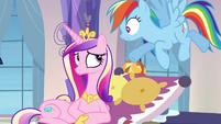 "Rainbow Dash ""no such thing as a small detail"" S03E12"