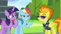 """Rainbow Dash annoyed """"I heard that!"""" S6E24"""