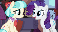 """Rarity """"all the help you need is right here"""" S5E16"""