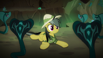 Snakes surrounding Daring Do S6E13