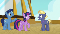 Twilight and Night Light welcoming Star Tracker S7E22