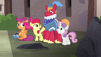 """Apple Bloom """"it's now or never, Big Mac!"""" S7E8"""