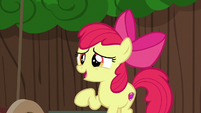 Apple Bloom suggesting a cart redesign S6E14