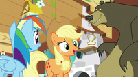 "Applejack ""I actually know a filly"" S7E5"