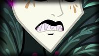 Close-up on Gaea Everfree's teeth EG4